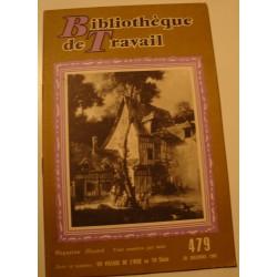 BIBLIOTHEQUE DE TRAVAIL 479 un village de l'oise - décembre 1960 RARE++