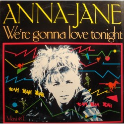 "ANNA-JANE we're gonna love tonight/instrumentale MAXI 12"" Promo 1987 EX++"