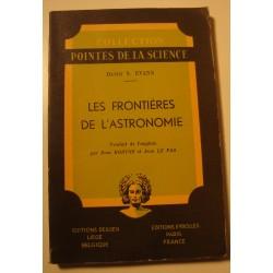 DAVID S. EVANS les frontières de l'astronomie 1948 Eyrolles RARE++