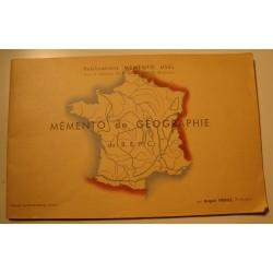 ROGER FREHEL memento de géographie du b.e.p.c MEMENTO USUEL++