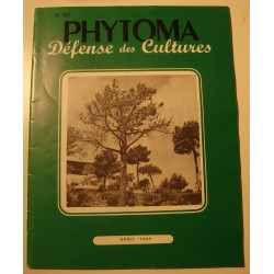 PHYTOMA N°207 défense des cultures 1969 cochenille++