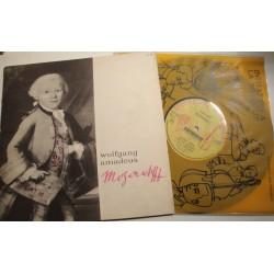 MICHEL ROUX/LISETTE LEMAIRE/RIEUBON Mozart LP25cm Initiation musique EX++