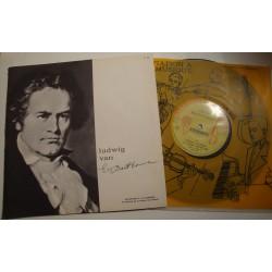 MICHEL GATINEAU/PATRICE AHRWELLER Beethoven LP25cm Initiation musique EX++