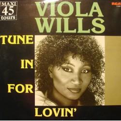 """VIOLA WILLS tune in for lovin' (3 versions) MAXI 12"""" 1985 RCA VG++"""
