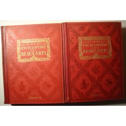 LOUIS HOURTICQ encyclopédie des beaux-arts OMNIUM 1925 Hachette - architecture EX++