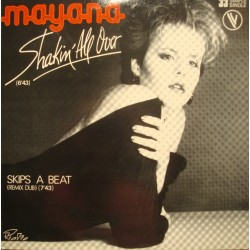 MAYANA shakin all over/skips a beat MAXI 1983 VOGUE EX++