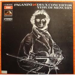 YEHUDI MENUHIN deux concertos PAGANINI LP 1972 Emi EX++