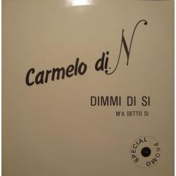 CARMELO DI NAPOLI dimmi di si/m'a detto si MAXI PROMO 1987 COBRA NM++