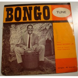 "MAX WOISKI JUNIOR bongo tune PIETER GOEMANS SP 7"" souple RARE VG++"