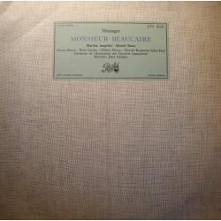 JULES GRESSIER/LAMOUREUX/BERTON/LENOTY monsieur Beaucaire MESSAGER LP VG++