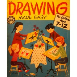 PAUL DUCKWORTH drawing made easy - for children ages 7-12 Paxton-Slade 1954++