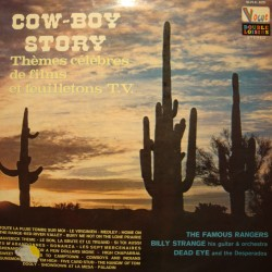THE FAMOUS RANGERS/BILLY STRANGE/DEAD EYE cow-boy story BO 2LP'S 1972 EX++