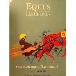 EQUUS 15 les chevaux - prix d'Amérique Marionnaud 2003 équitation EX++