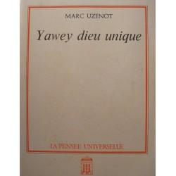 MARC UZENOT Yawey dieu unique - Dédicacé 1985 Pensée universelle++