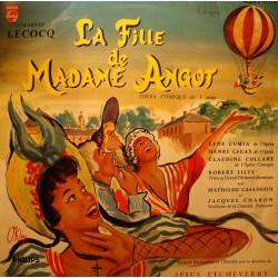 ETCHEVERRY/CUMIA/LEGAY/COLLART la fille de madame Angot LECOCQ LP VG++
