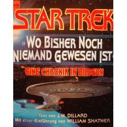 J.M. DILLARD Star Trek wo bisher noch niemand gewesen ist 1994 HEYNE EX++