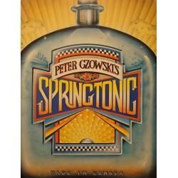 PETER GZOWSKI'S springtonic SIGNÉ 1979 HURTIG made in Canada RARE++