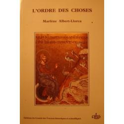 MARLÈNE ALBERT-LLORCA l'ordre des choses - origine des animaux et des plantes EX++