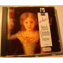 PETERSEN QUARTETT/KNORZER/SCHIEFEN streichquintette CD 1993 Capriccio EX