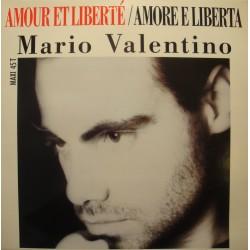 MARIO VALENTINO amour et liberté/amore e liberta MAXI 1989 ORLANDO VG++
