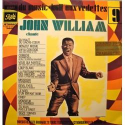 JOHN WILLIAM du music-hall aux vedettes LP PATHÉ du haut du sacre-coeur VG++