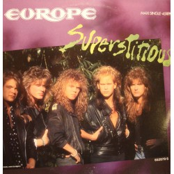 ++EUROPE superstitious/lights and shadows/cherokee MAXI 1988 CBS EX++