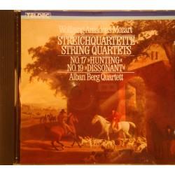 ALBAN BERG QUARTETT streichquartette string quartets MOZART CD 1984 Teldec