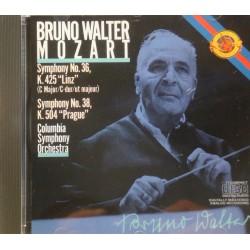 BRUNO WALTER/COLUMBIA symphony 36-38 MOZART CD 1985 CBS