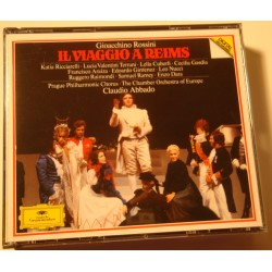 CLAUDIO ABBADO/PRAGUE il viaggio a Reims ROSSINI 2CD's Box 1985 DG