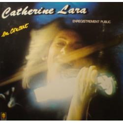 CATHERINE LARA en concert LP 1984 Trema - famelique/autonome