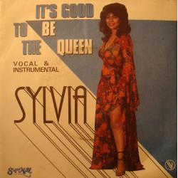 "SYLVIA it's good to be the queen/instrumental SP 7"" 1982 Sugar Hill Rap Funk"