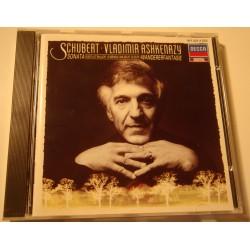 VLADIMIR ASHKENAZY sonata/wandererfantasie SCHUBERT CD 1987 Decca