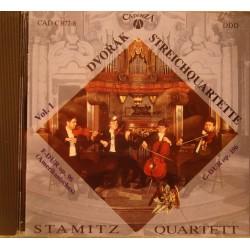 STAMITZ QUARTETT streichquartette - quatuors à cordes DVORAK CD 1988 Cadenza