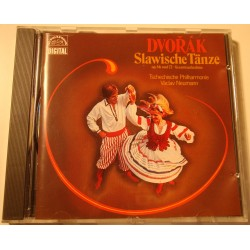 VACLAV NEUMANN/TSCHECHISCHE slawische tanze - danses slaves DVORAK CD 1986