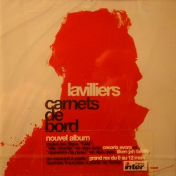 LAVILLIERS carnets de bord CD 2004 Barclay