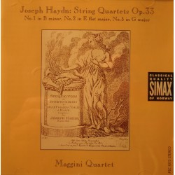 MAGGINI QUARTET string quartets op.33 HAYDN CD 1992 Simax