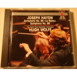 HUGH WOLFF/SAINT PAUL CHAMBER symphony n°85-86 HAYDN CD 1991 Teldec