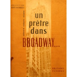 EDWARD ROBERTS MOORE un pretre dans Broadway 1958 FLEURUS++