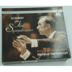 HARNONCOURT/ROYAL CONCERTGEBOUW the symphonies SCHUBERT 4CD's Box Teldec