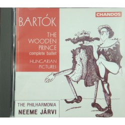 NEEME JÄRVI/THE PHILHARMONIA the wooden prince BARTOK CD 1991 Chandos