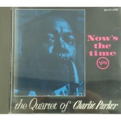 QUARTET OF CHARLIE PARKER now's the time CD Verve