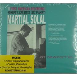 MARTIAL SOLAL at Newport '63 CD 2000 RCA