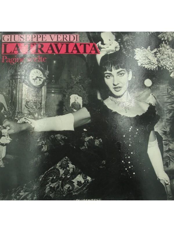 PAGINE SCELTE la traviata VERDI LP 1983 Fonit Cetra