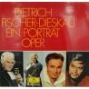 DIETRICH FISCHER-DIESKAU ein portrat oper 2LP's Box DG