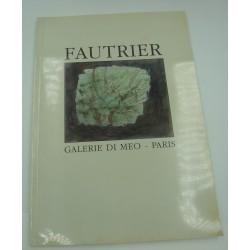 FAUTRIER galerie Di Meo - Paris - exposition 1986