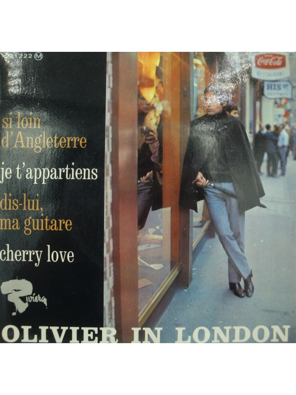 OLIVIER DESPAX olivier in London - si loin d'Angleterre/cherry love EP 1966