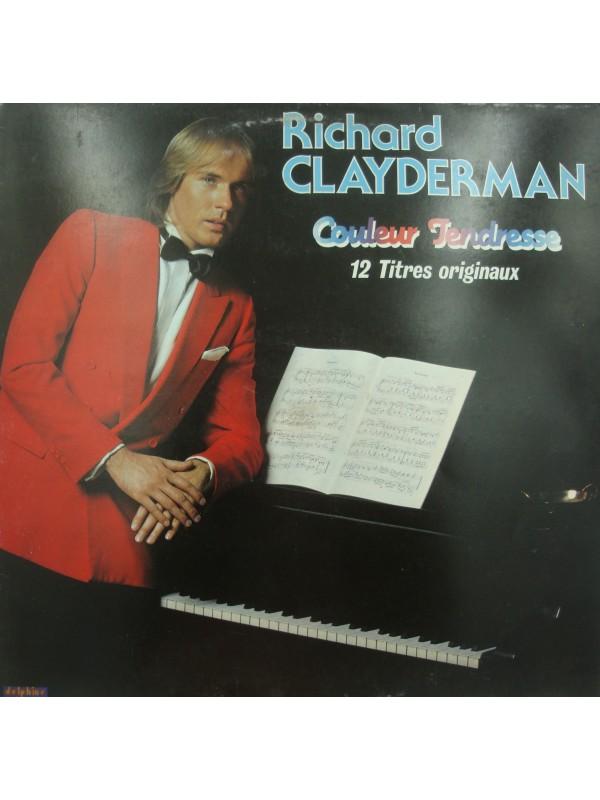 RICHARD CLAYDERMAN couleur tendresse LP 1982 Delphine - ma solitude