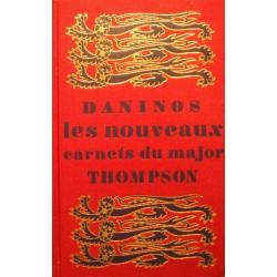 ++DANINOS les nouveaux carnets du major Thompson 1973 HACHETTE++