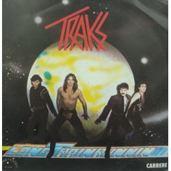 TRAKS long train running/drums power SP 1982