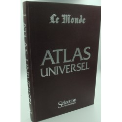 LE MONDE Atlas universel 1987 Reader's digest - cartes nations du monde